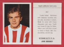 Stoke City John Mahoney Wales 251